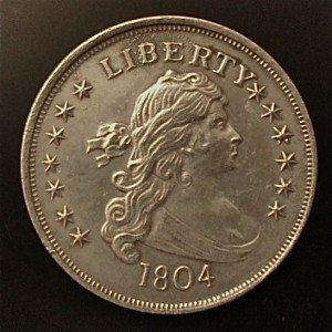 Counterfeit 1804 Bust Dollar