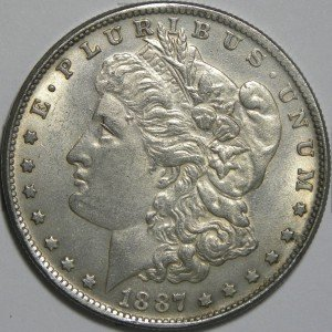 Counterfeit 1887-CC Morgan Dollar