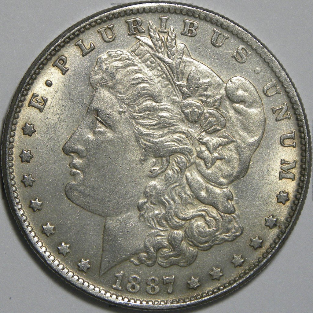 Counterfeit 1887 Cc Morgan Dollar