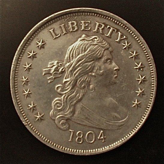 Counterfeit 1804 Bust Dollar